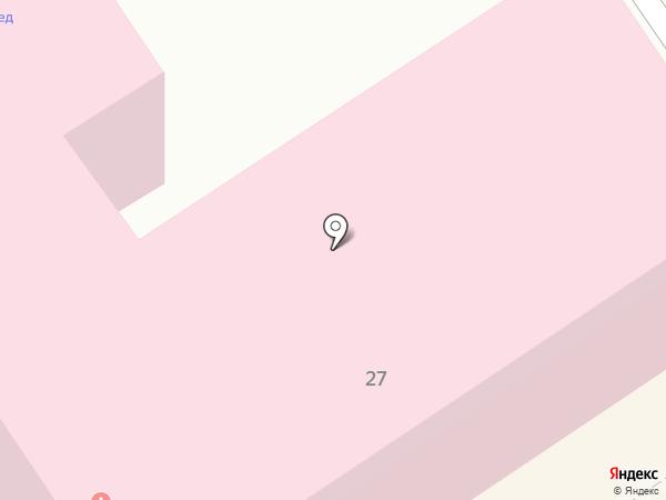 Поликлиника №1 на карте Орла