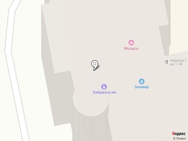 Усатый Полосатый на карте Орла