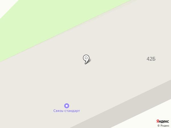 Связь-стандарт на карте Орла