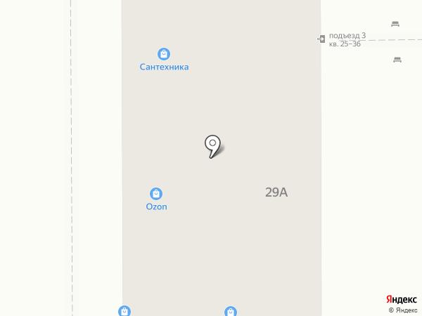Сантехстрой на карте Курска