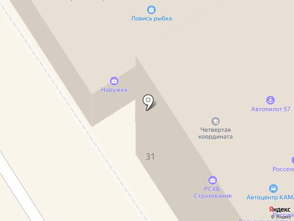 Автопилот на карте Орла