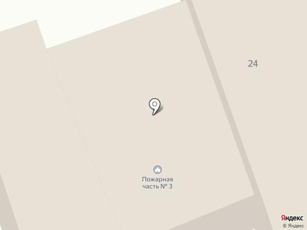 Отдел госпожарнадзора по Железнодорожному району на карте Орла
