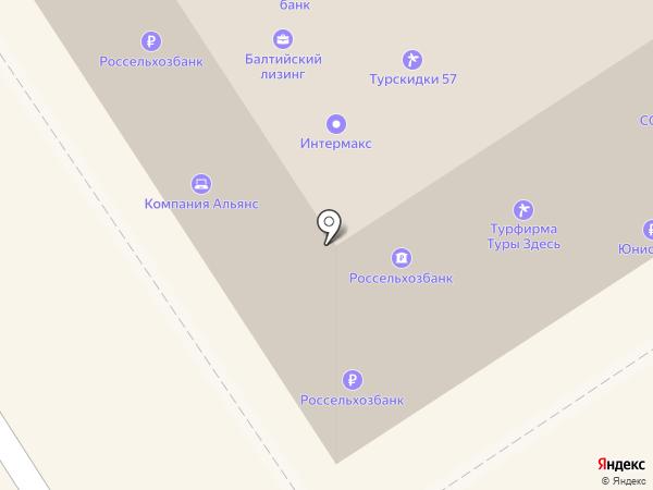 Россельхозбанк на карте Орла