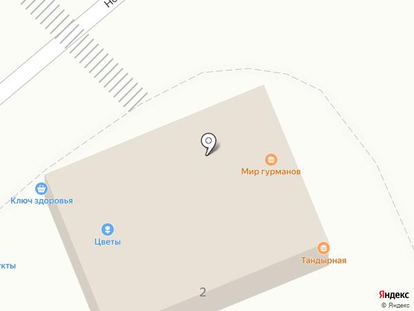 Постелька на карте Орла