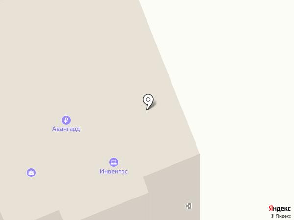 Инвентос на карте Орла