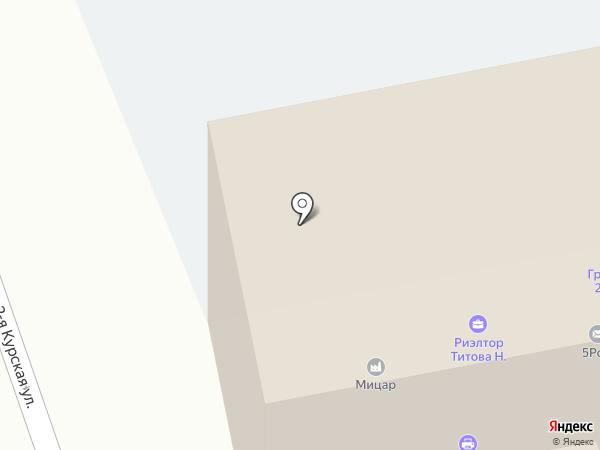 ПУШКИНСКИЙ на карте Орла