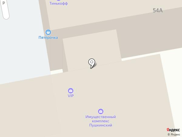 Окнапласт на карте Орла