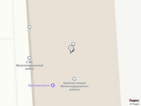 Железнодорожная территориальная избирательная комиссия г. Орла на карте Орла