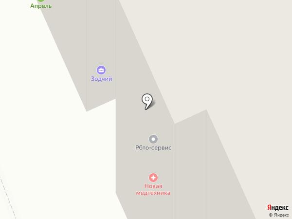 Зодчий на карте Орла