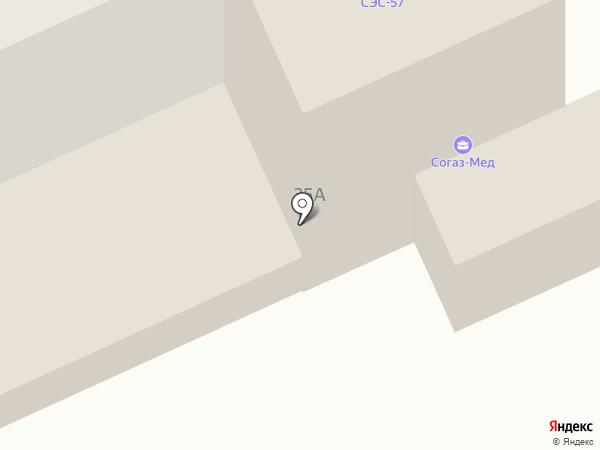 Орёл на карте Орла