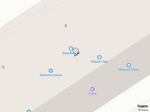 Двери Волховец на карте Орла