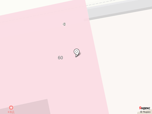Орловский областной кожно-венерологический диспансер на карте Орла