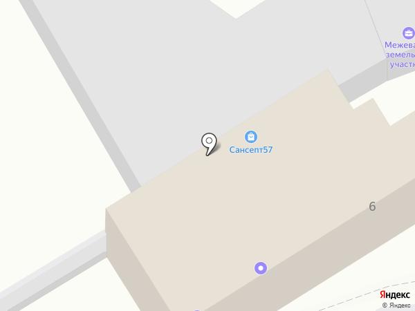 Строй-комфорт на карте Орла