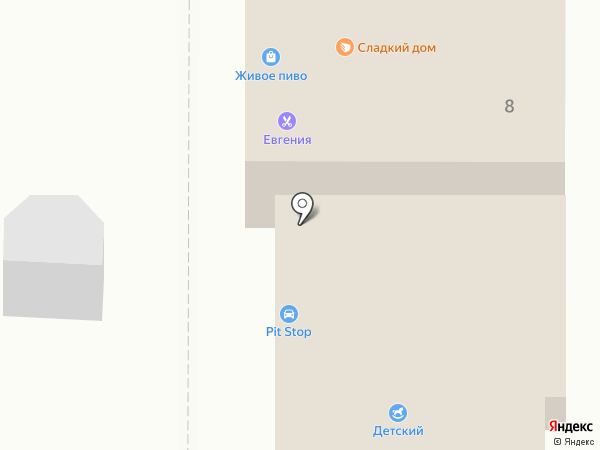 Бежин луг на карте Орла