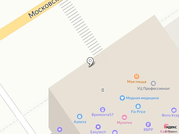 Альянс технопарков на карте Орла