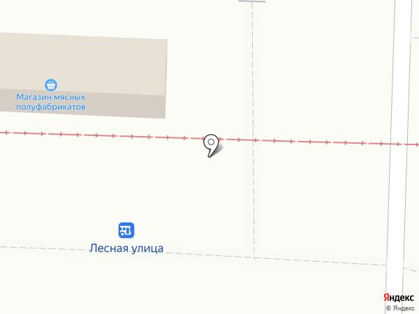 Магазин мясных полуфабрикатов на карте Курска