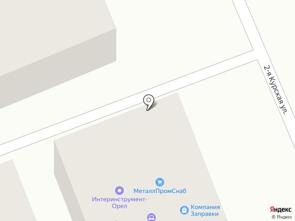 Торгово-монтажная компания на карте Орла
