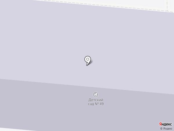 Детский сад №49 на карте Орла