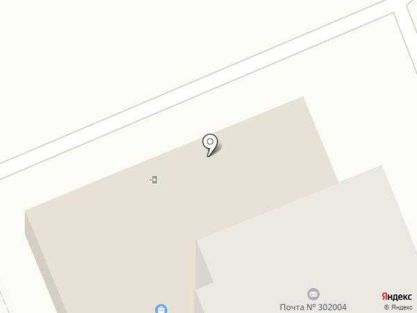 Почтовое отделение №4 на карте Орла