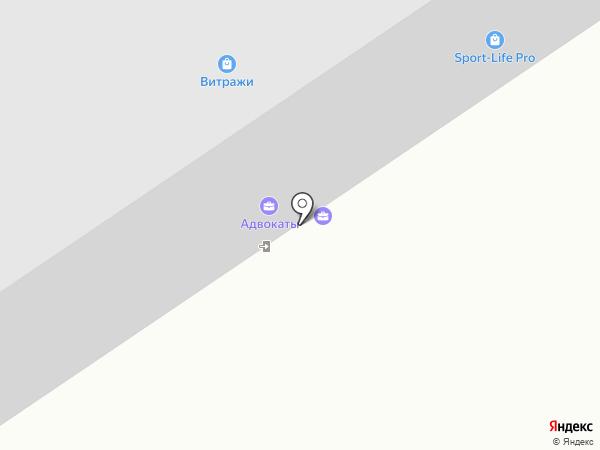 Росток на карте Орла
