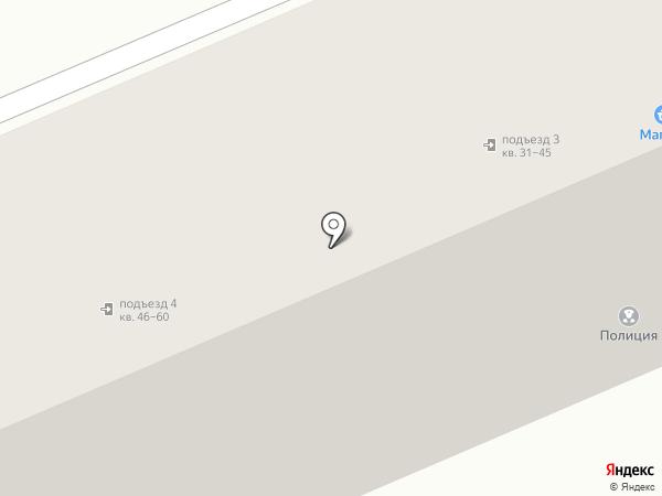 Участковый пункт полиции №9 на карте Орла