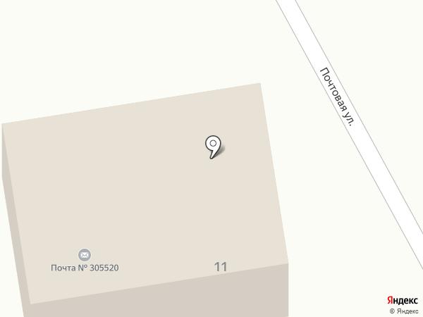 Почтовое отделение №1 на карте 1-й Моквы