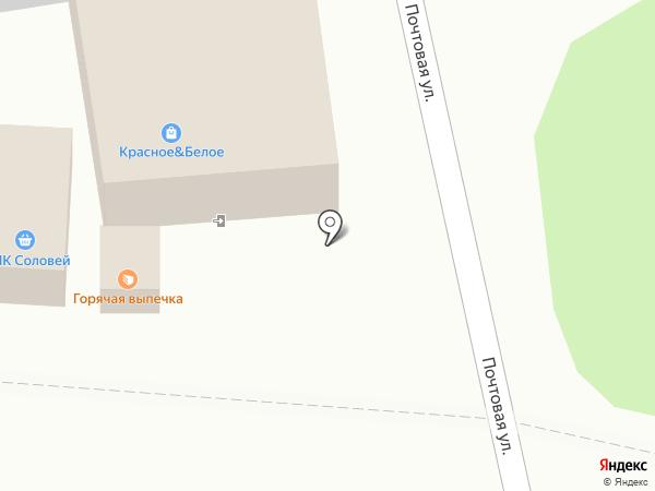 Киоск фастфудной продукции на карте 1-й Моквы