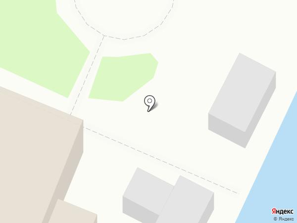 Причал на карте 1-й Моквы