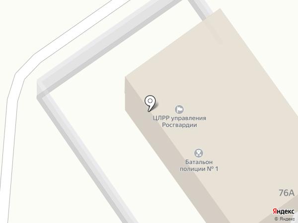 Управление вневедомственной охраны на карте Орла