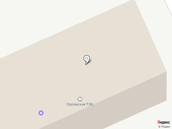 Квадра, ПАО на карте Орла