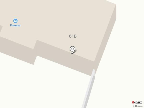 Автокомплекс на карте Курска