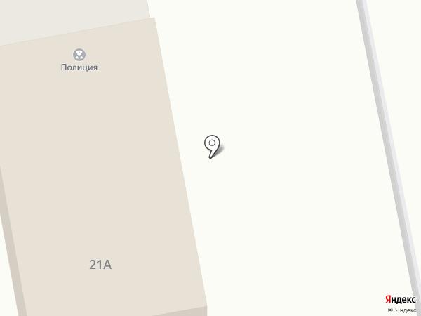 Участковый пункт полиции на карте Курска