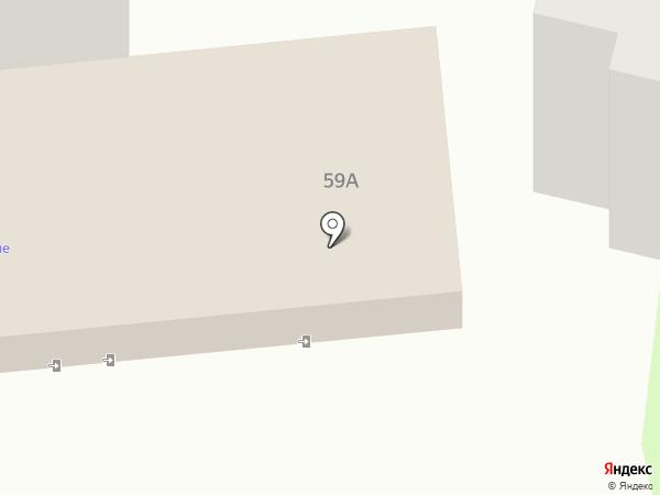 Ясные зори на карте Курска