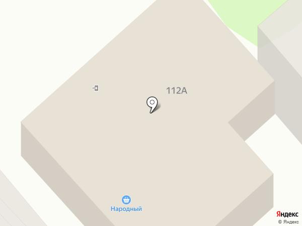 Народный на карте Орла