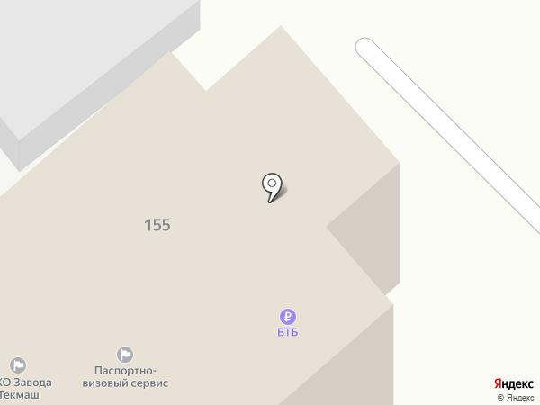 Орловский колледж информационных технологий, ЧОУ на карте Орла