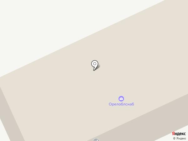 Орелоблснаб на карте Орла