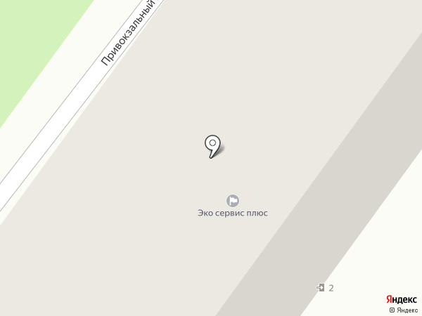 Железнодорожник на карте Орла