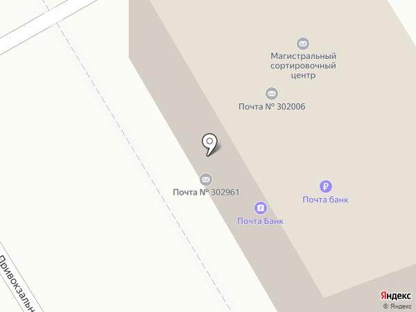 Почтовое отделение №6 на карте Орла