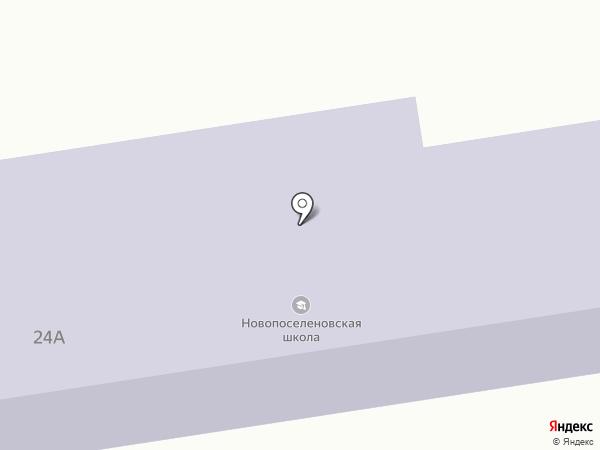 3-я Цветовская начальная общеобразовательная школа на карте Курска