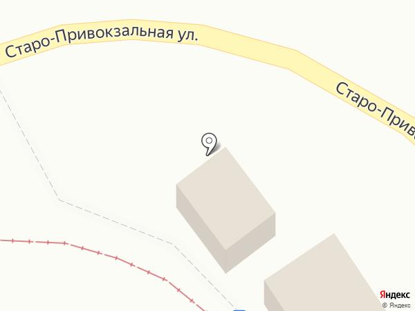 Киоск овощей и фруктов на Старо-Привокзальной, 2Б на карте Орла