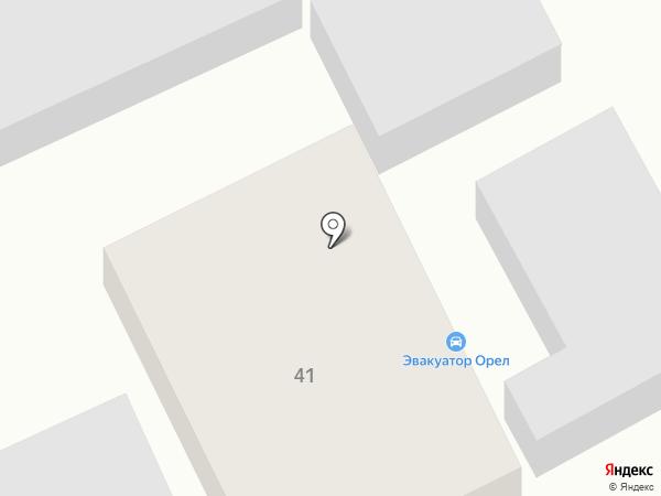 Универсал Авто на карте Орла