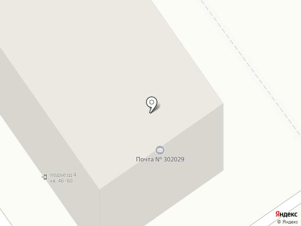 Почтовое отделение №29 на карте Орла