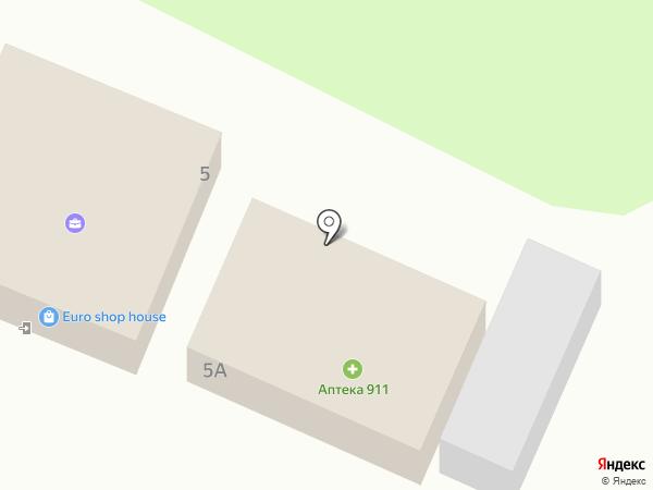 911 на карте Высокого