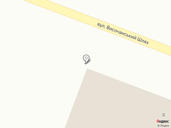 Парикмахерская на карте Высокого
