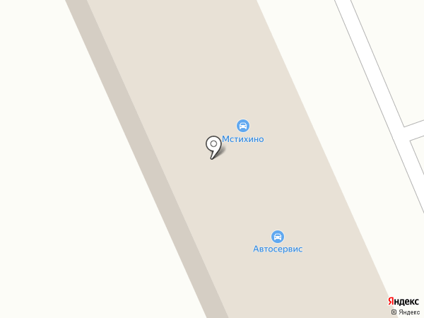 Мстихино на карте Мстихино