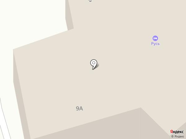 Русь на карте Мстихино