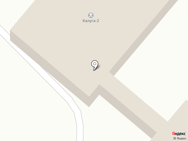 Калуга 2, участковый пункт полиции на карте Калуги
