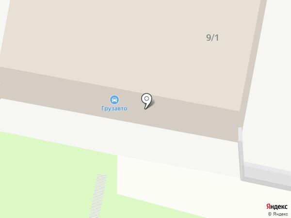 Грузавто на карте Курска