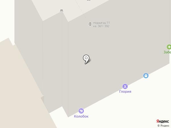 Рыболов на карте Курска