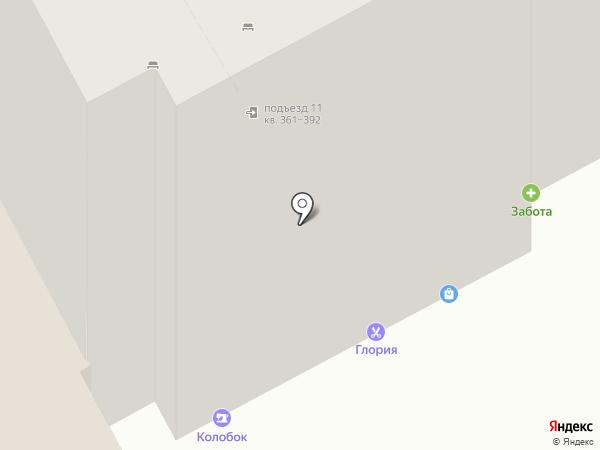 Лик на карте Курска